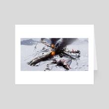 crash site - Art Card by Emirhan Şahin