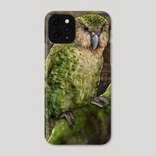 Kakapo - Phone Case by Alyssa Johnson