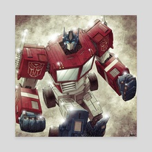 Optimus Prime - Canvas by Jose  Real