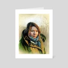 Katie - Art Card by Tom Schmitt