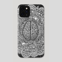 A Chaotic Mind - Phone Case by Dan Jackson