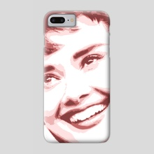 NEW POP SERIES / Audrey 1 - Phone Case by Giorgio D'Albano