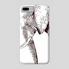 Extinction - Elephant - Phone Case by Xtinction
