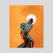 Eternal - VI - Canvas by Ngima Thogo