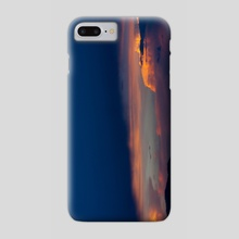 Sunset before Storm - Phone Case by Jared Sandoval