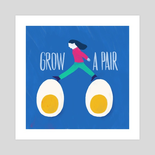 Grow a pair by Lucia Calfapietra
