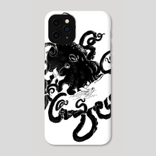Rock-A-Bye-Moby - Phone Case by Anthony Aves