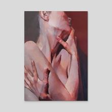 Reflection - Acrylic by Elena Nabokova