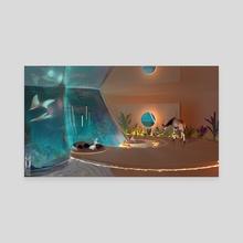 Spamarine - Canvas by FEER