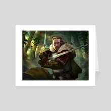 The Guardian - Art Card by Darko Stojanovic