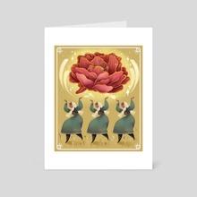Celebration - Art Card by valeria abatzoglu