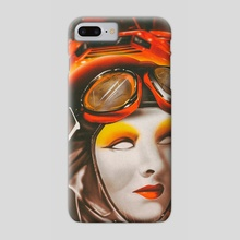 Old lambo future - Phone Case by Rfjrt