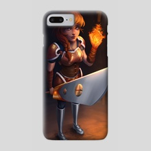 Firelight - Phone Case by Talexior