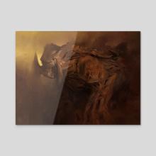 The Goliath - Acrylic by Jason  Kang