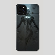 Cyborg Birth - Phone Case by Ian Llanas