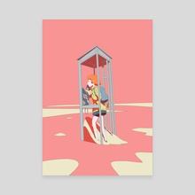 Contact - Canvas by Michel Saito