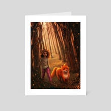 Magical Forest - Art Card by Christy Tortland