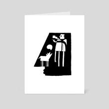 The Smoking Dream - Art Card by Nicholas Rakita