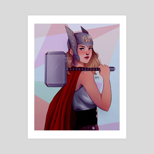 mighty thor by maxy artwork