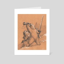 Bearworld- Forward Unto Victory - Art Card by Jim Gallo
