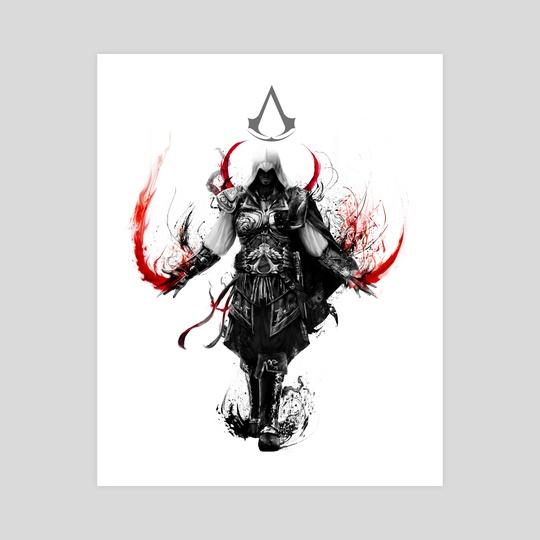 assassin's creed ezio by Maxim G