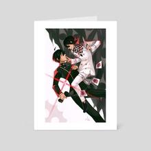 Shuichi and Kokichi - Art Card by Maegen Keefer