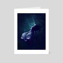 Blue - Art Card by K. C. Garza