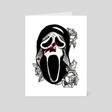 Ghostface - Art Card by Amanda Muniz
