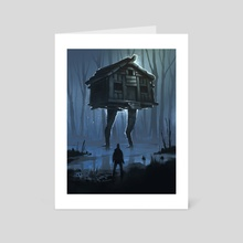 Baba Yaga - Art Card by Yakovlev Art