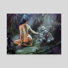 Hulder  - Canvas by Brian Heritage