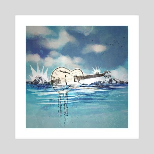 Sound Island by Irene Leon