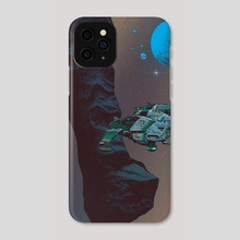Asteroid Crossing - Phone Case by Paul Rivoche