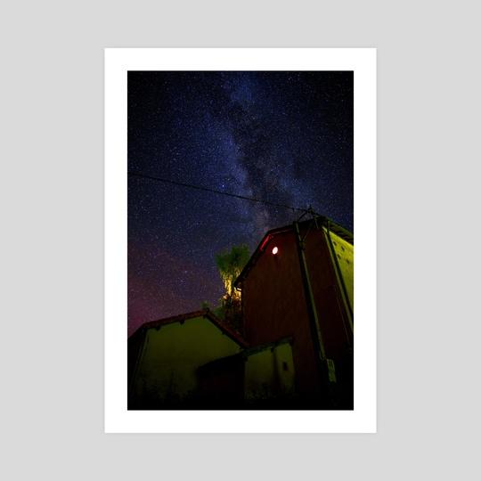 Milky way  by Kimie Lee