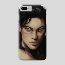 Aizawa (Shaved Version) - Phone Case by Angelique Roselli