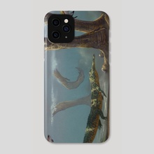 Coelophysis Feet - Phone Case by Douglas Henderson