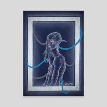 Nienor. CyberElf - Canvas by Elin Lewis