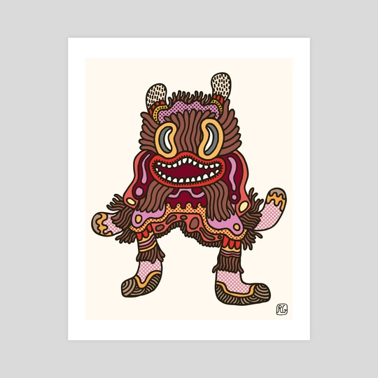 Olmeca Monster of the day (June 2) [Year 1] by Royal Glamsters