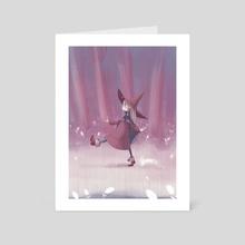 Little Forest Witch - Purple - Art Card by Dani Ve