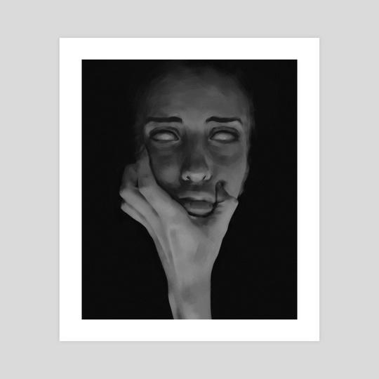 Holding face by Ekaterina Kuznetsova