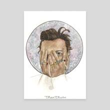 harry styles - Canvas by Thea Flucke