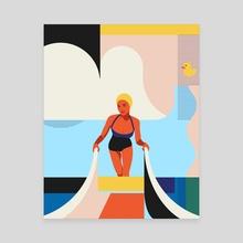 Summer season 2 - Canvas by Vera Ivanova