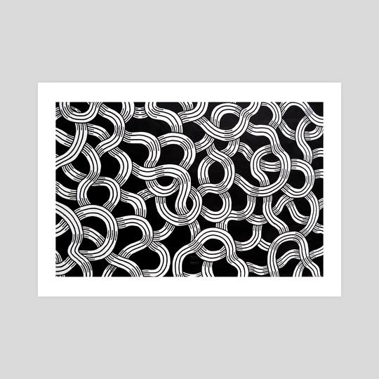 Intertwined Mural Closeup by Tanya Heidrich