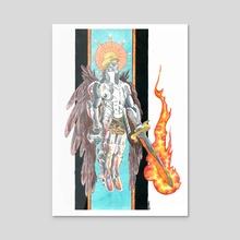 Archangel - Acrylic by Rhod  Will (ZECO)