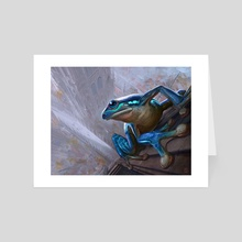 Leapfrog - Art Card by Aaron Miller