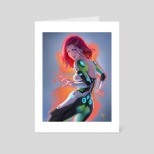 Erin 01 - Art Card by Warren Louw