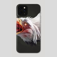 Zomb-Eagle - Phone Case by Gabriel Cassata