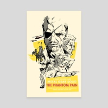 Phantom Pain - Canvas by Hayden Sherman