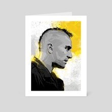 Taxidriver - Art Card by Nikita Abakumov