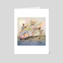 Submerge - Art Card by TS Larking