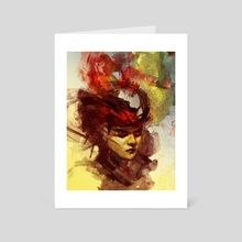 Flegetonte - Art Card by Eleni Tsami